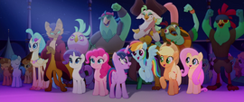 Ponies, pirates, and Capper cheering (new version) MLPTM