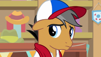 Quibble Pants listening to Rainbow Dash S9E6