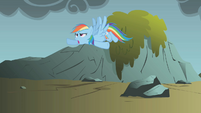 """Rainbow Dash """"time to stop wasting time"""" S1E07"""