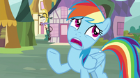 """Rainbow Dash """"what's the big deal?"""" S8E18"""