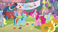 Rainbow Dash -guess it was nothing- S7E23