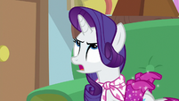 """Rarity """"just because I needed Twilight"""" S8E17"""