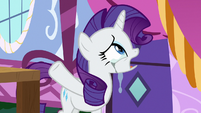 "Rarity tearfully ""there is no show!"" S7E9"