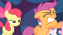 Scootaloo trying to fly again S4E05