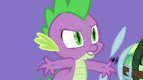 Spike -I'm a dragon!- S5E5