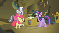 """Apple Bloom """"whenever Zecora comes to town"""" S1E09"""