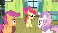 Apple Bloom -to some incredibly hard-to-reach town- S4E17
