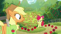 Apple Bloom returns looking disappointed S9E10
