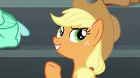 """Applejack """"except maybe cotton candy"""" S6E7"""