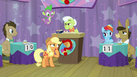 """Applejack """"what was the question again?"""" S9E16"""
