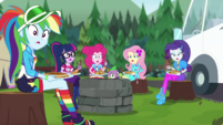 "Equestria Girls in unison ""he does?"" CYOE11a"