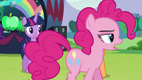 """Pinkie """"In fact, it was terribly difficult"""" S5E24"""