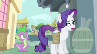 "Rarity ""I don't really think I need to ask permission"" S4E23"