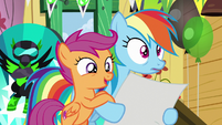 """Scootaloo """"only the newest and greatest"""" S8E20"""