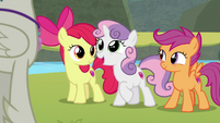 Sweetie Belle -you are so lucky!- S8E6