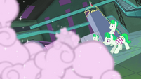 The henchponies sees the spray S4E06