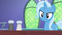 Trixie frustrated that her spell failed again S7E2