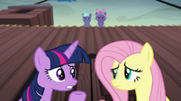 """Twilight """"why does everypony assume we're spies?"""" S5E23"""