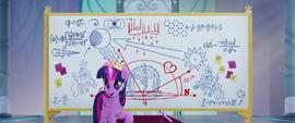 Twilight Sparkle addressing Cadance MLPTM
