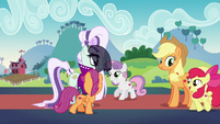 Cutie Mark Crusaders leave while starstruck S5E24