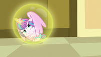 Flurry Heart cowering away from Twilight S7E3
