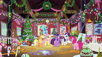Mane Six in Pinkie Pie's escape room BGES2