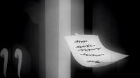 Matilda's note S2E18