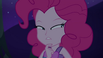 Pinkie Pie in suspicious thought EGSBP