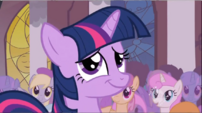 Ponies celebrating the defeat of Discord S2E02