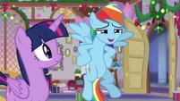 "Rainbow Dash ""it's a really long walk"" S8E16"