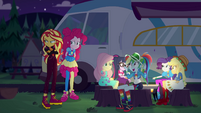 Rainbow Dash asking about the concert EGSBP