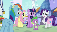 """Rarity """"everypony is a little jumpy"""" S9E24"""