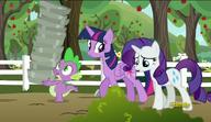 S06E10 Rarity opowiada Twilight o spóźnieniu Applejack