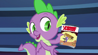 """Spike """"can't leave the Power Ponies"""" S9E26"""