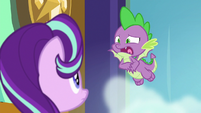 """Spike """"he puts that many E's in 'really'"""" S8E15"""