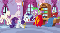 """Spike """"wonderful things about flying"""" S8E11"""
