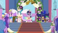 Twilight at her coronation S3E13