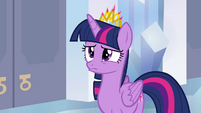 Twilight pouting S4E25