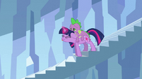 Twilight with her tongue out S3E2