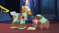 """Yona """"brave and strong as yak!"""" S8E21"""