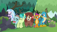 Young Six glancing to the left S8E9