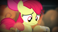 Apple Bloom looking at the map S4E17