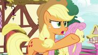 "Applejack ""it ain't even saucin' season!"" S8E18"