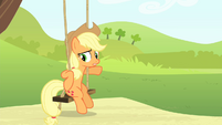 Applejack goes back to the swing S4E20