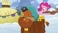 """Pinkie Pie """"why don't I go to Ponyville"""" S7E11"""