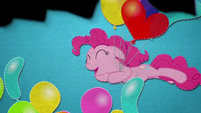 Pinkie Pie dives into a pile of balloons BFHHS5