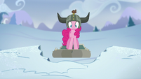 Pinkie about to fall S5E11