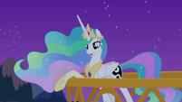 "Princess Celestia ""everypony's asleep"" S7E10"
