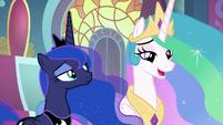 """Princess Celestia """"of course you are"""" S9E1"""