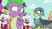 """Spike """"that'll be two days in a row"""" S9E19.png"""